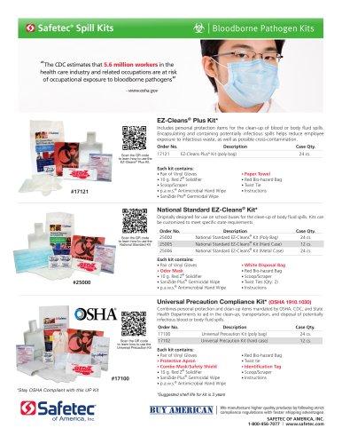 National Standard EZ-Cleans® Kit (25000, 25005, 25006)