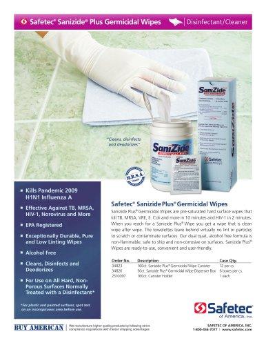 SaniZide Plus® Germicidal Wipes