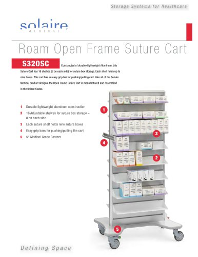 Product Sheet-Open Suture Cart