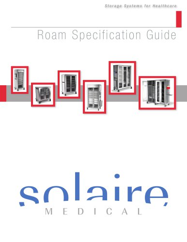 Roam Supply Carts Specifications Guide