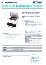 EZ ThermoShake Datasheet v2