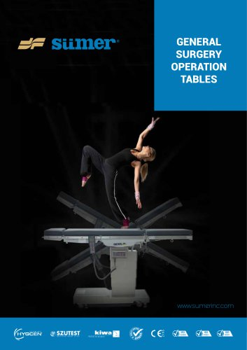 Operating Table Catalogue