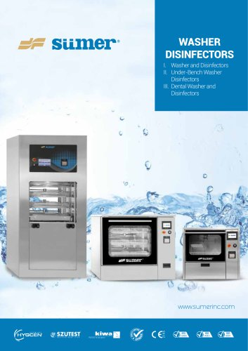 Washer Disinfector Catalogue