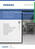 Porkka SD7 Sliding Doors SD7 200   SD7 400