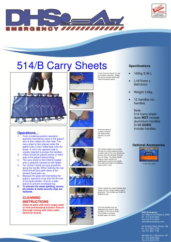 514/B Carry Sheets