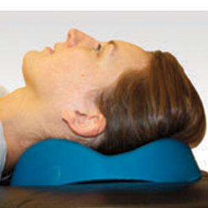 almofada de posicionamento da cabeça / de apoio da nuca / cirúrgica / de gel