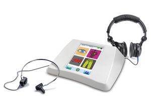 audiômetro com reforço visual