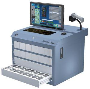 armário de distribuição automática de medicamentos de medicamentos / para farmácia / de abastecimento / com computador