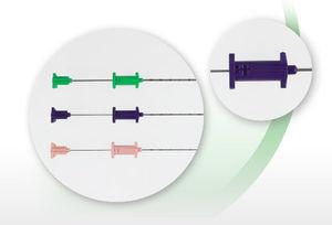 agulha para biópsia automática