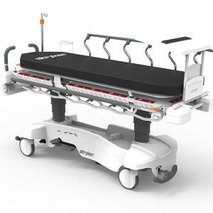 carro-maca de transporte / manual / para imagens médicas / não articulado