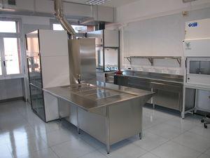 estação de trabalho de laboratório para histopatologia