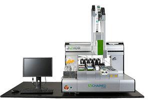 sistema de automação de laboratório de design de fluxo de trabalho