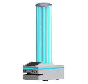 robô de desinfecção UV