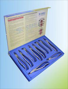 fórceps odontológicos para raízes dentárias