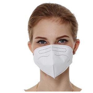 máscara de proteção com 3 painéis