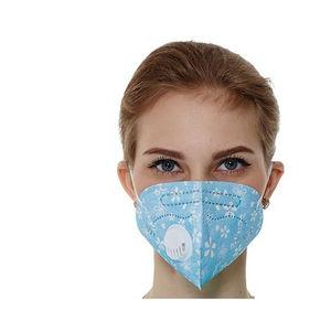 máscara de proteção com válvula de exalação