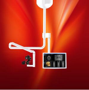 braço de suporte para câmera de teto / médico / cirúrgico / odontológico