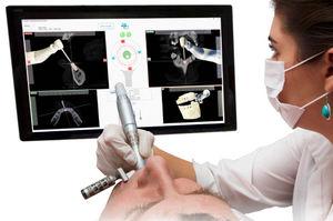 sistema de navegação cirúrgica para cirurgia odontológica