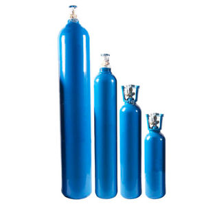 cilindro de gás medicinal de oxigênio / em compósito de carbono