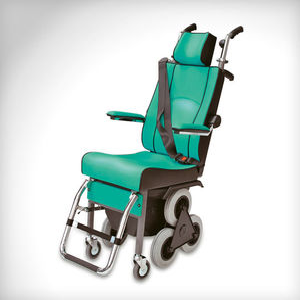 cadeira elevatória para escadas / para ambiente interno / elétrica / de altura regulável