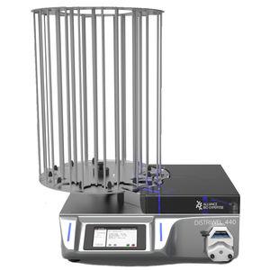 dispensador de meios de cultura de laboratório / para cultura celular / de bancada / para caixas de Petri