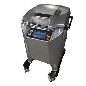 sistema automático de preparação de meios de cultura de esterilização / de filtração / com rodízios