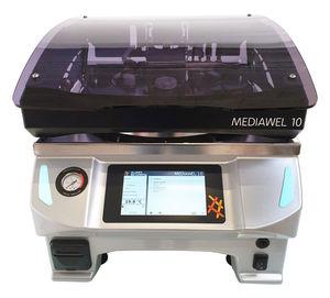 sistema automático de preparação de meios de cultura automático / de esterilização / de bancada