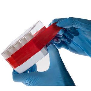 etiqueta para caixas de Petri