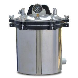 esterilizador hospitalar / de laboratório / a vapor / de bancada