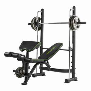 banco de musculação ajustável / com aparelho Smith
