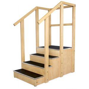 escada para reabilitação reta