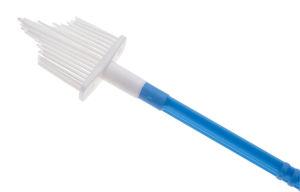 escova de citologia oncótica / descartável / esterilizada
