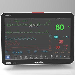 monitor de paciente de capnografia