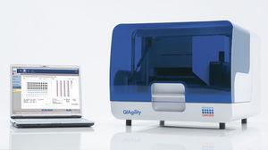 estação de trabalho de laboratório para PCR