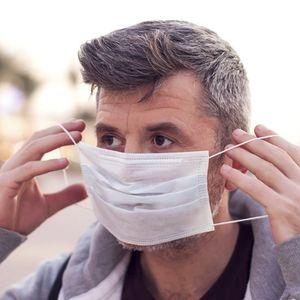 máscara cirúrgica de tipo IIR