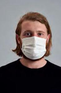 máscara de proteção em polipropileno