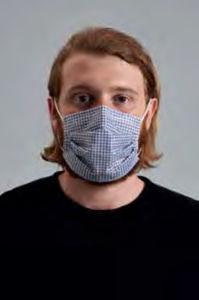 máscara de proteção em tecido