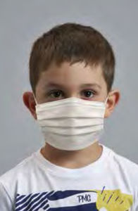 máscara de proteção infantil