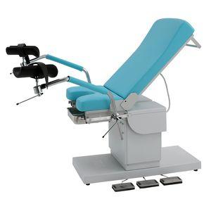 cadeira de exame para ginecologia / elétrica / de altura regulável / de 2 seções