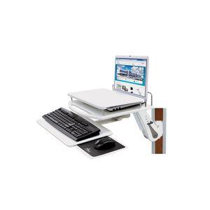 suporte para computador portátil de parede