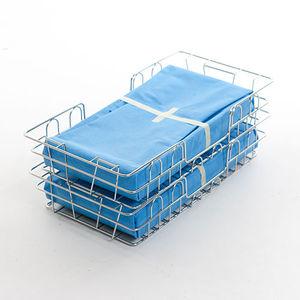 cesto de esterilização em aço inoxidável
