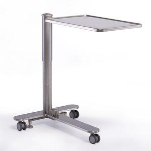 mesa para instrumental de altura regulável