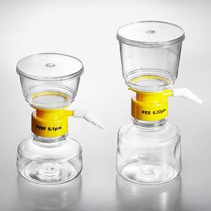filtro a vácuo / para líquidos / de laboratório / em polietersulfona