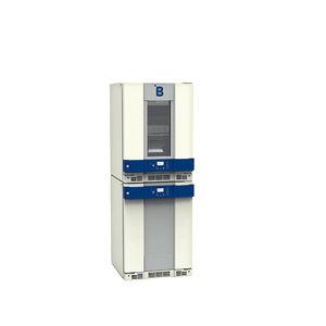 refrigerador para banco de sangue / vertical / combinado / com descongelação manual