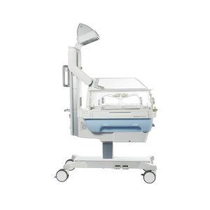 mesa de reanimação neonatal com rodízios