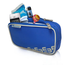 bolsa para kit de diabetes