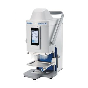 robô pipetador de laboratório