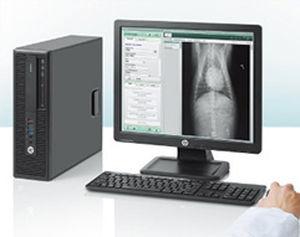 estação de trabalho informática para diagnóstico veterinário por imagem
