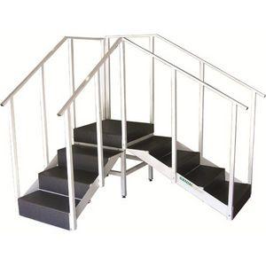 escada para reabilitação de canto