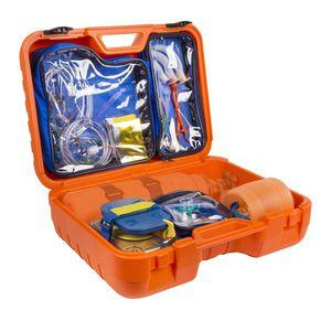 kit médico de reanimação cardiopulmonar